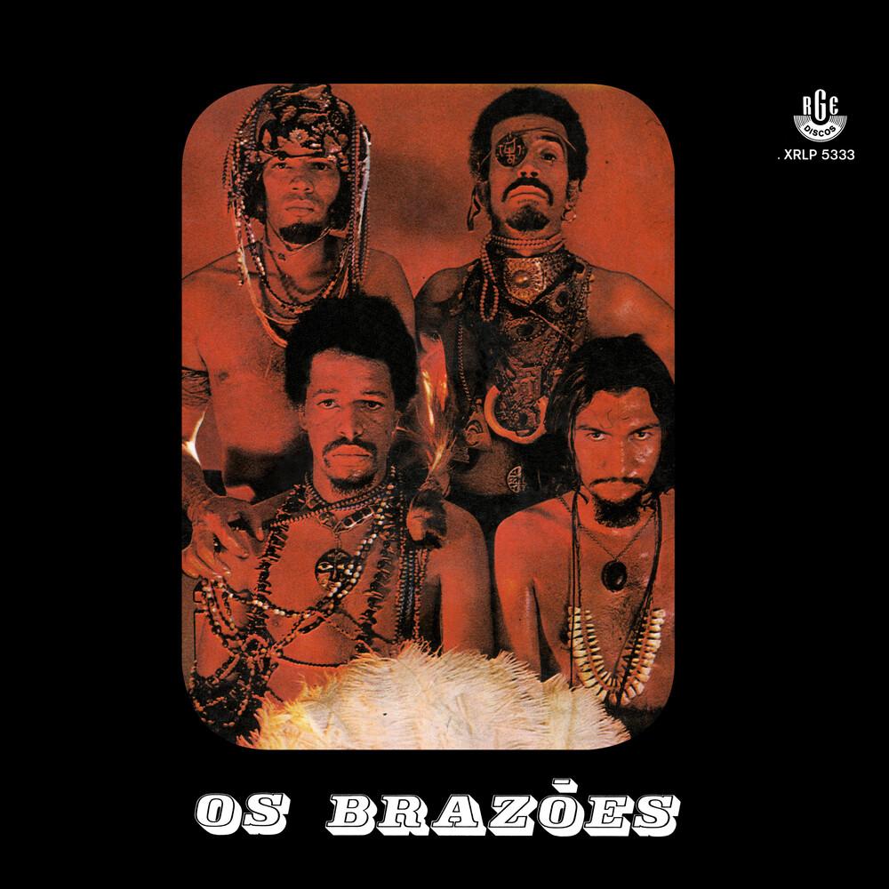 Os Brazoes - Os Brazoes [Indie Exclusive] (Orange Splatter Vinyl) [Colored Vinyl]