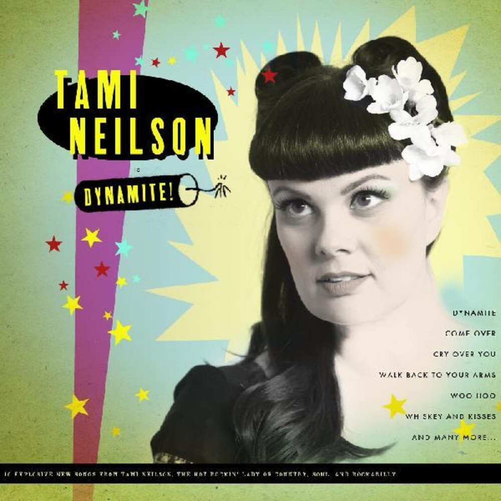Tami Neilson - Dynamite! [Colored Vinyl] [Limited Edition] (Red) [Indie Exclusive]