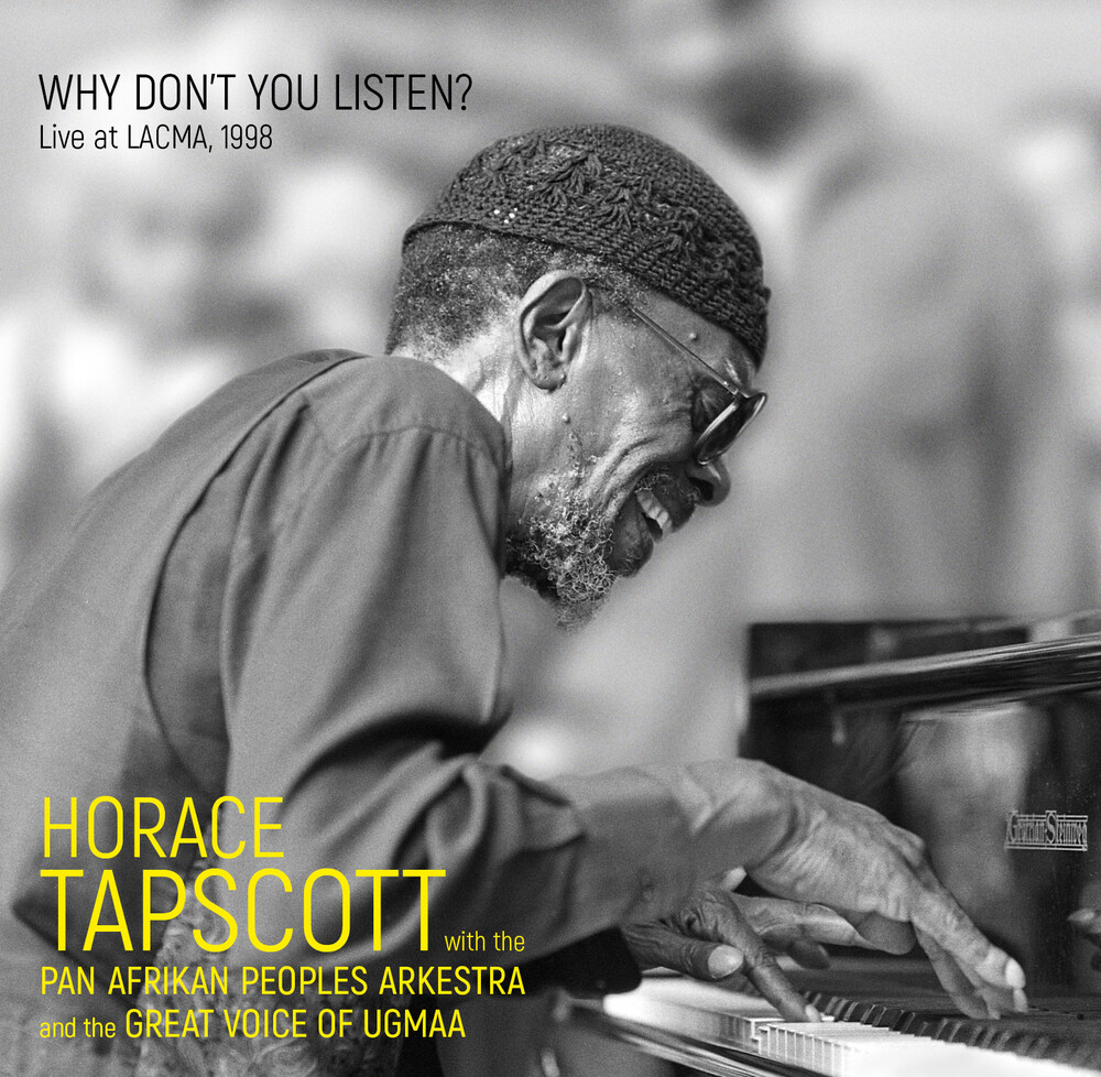 Horace Tapscott - Why Don't You Listen: Live At Lacma 1998 (Spa)
