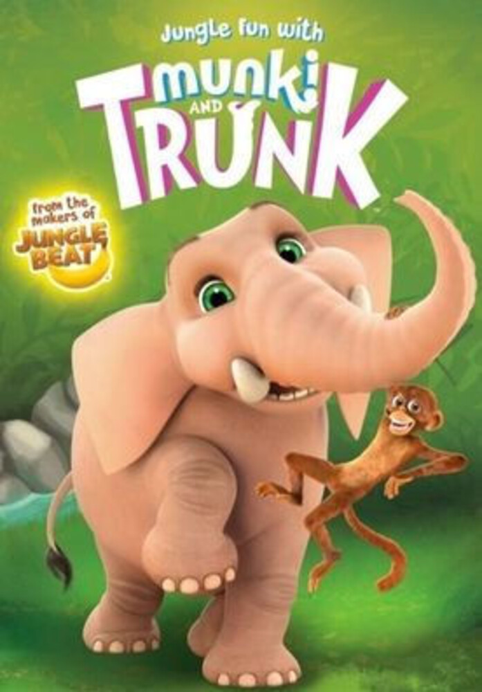 Jungle Fun with Munki and Trunk DVD - Jungle Fun with Munki & Trunk