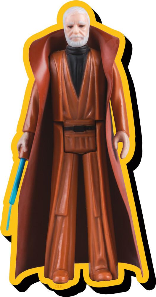 Star Wars Obi-Wan Kenobi Af Funky Chunky Magnet - Star Wars Obi-Wan Kenobi Action Figure Funky Chunky Magnet