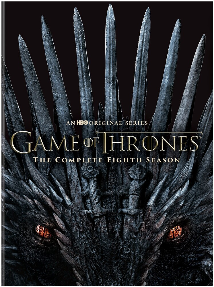 - Game Of Thrones: Season 8 (4pc) / (Box Rpkg Slip)