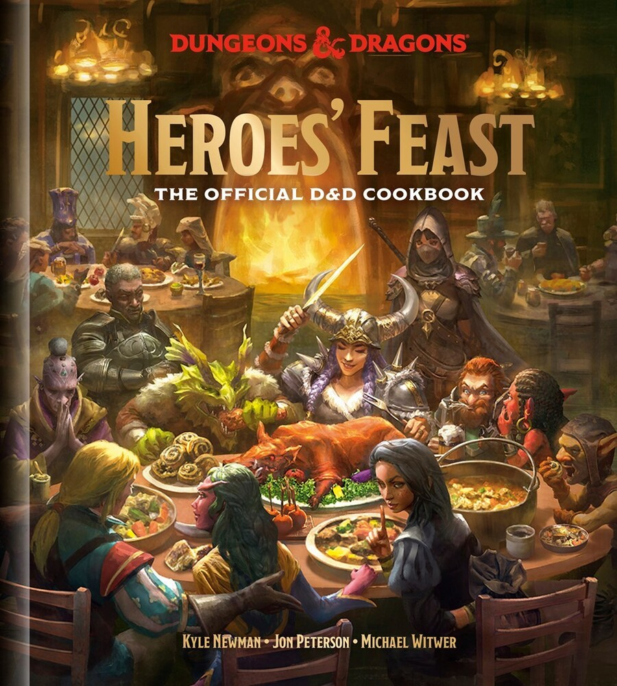 - The Dungeons & Dragons Cookbook (Dungeons & Dragons, D&D)