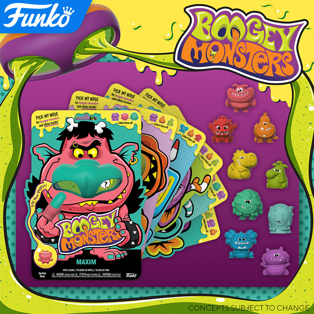 Funko Boogey Monsters: - FUNKO BOOGEY MONSTERS: Boogey Monsters (One Random Monster PerPurchase) (Styles May Vary)