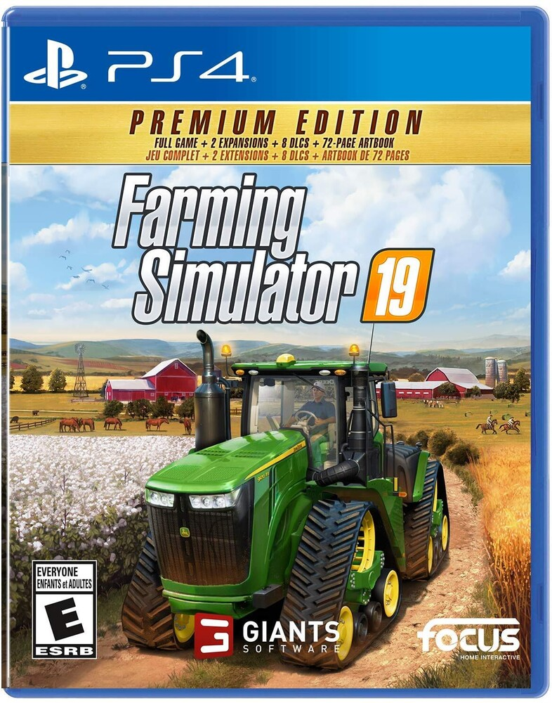 - Ps4 Farming Simulator 19: Premium Ed