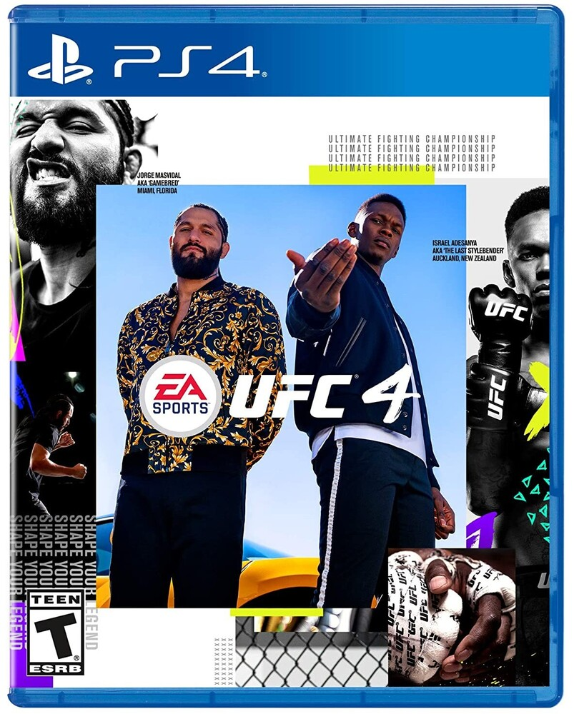 Ps4 UFC 4 - Bilingual - Ps4 Ufc 4 - Bilingual