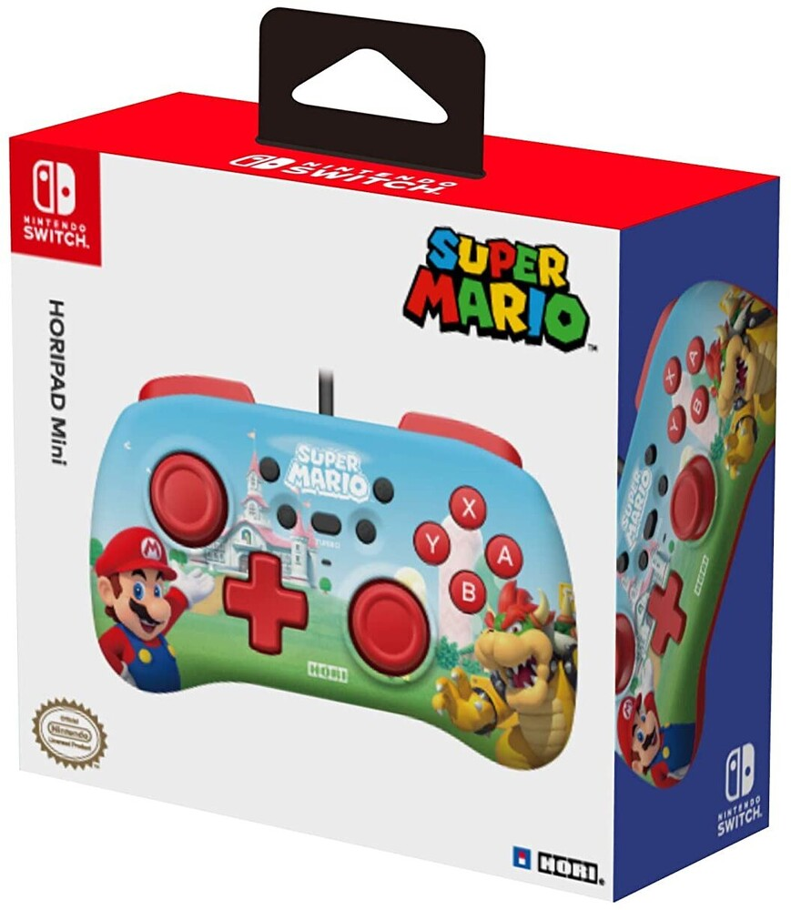 - HORIPAD Mini (Mario) for Nintendo Switch