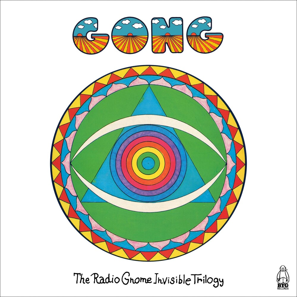 Gong - Radio Gnome Invisible Trilogy (4cd Earbook)