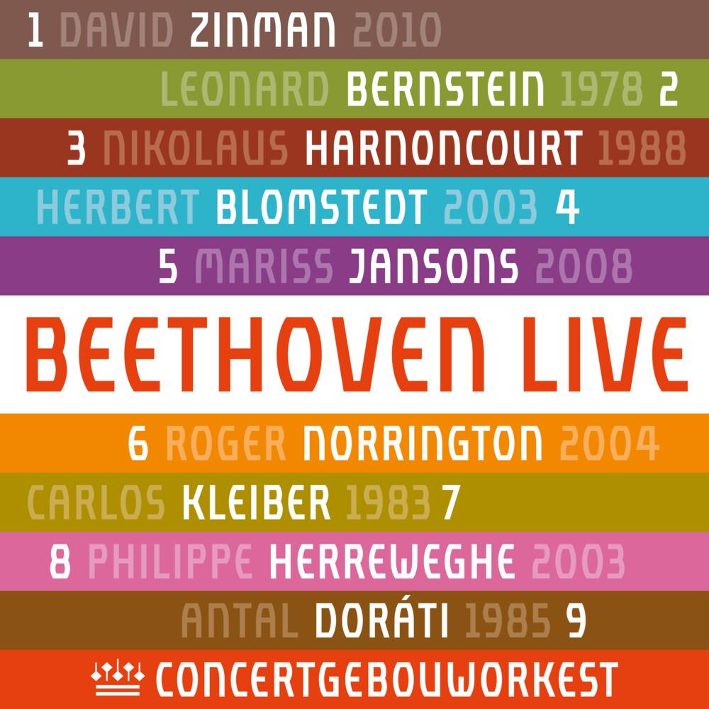 Beethoven / Concertgebouworkest - Beethoven: Symphonies 1-9 (Uk)