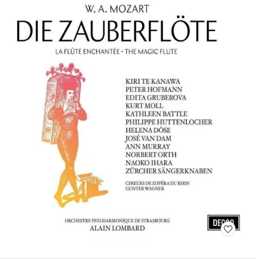 Kiri Te Kanawa/Edita Gruberova/Kathleen Battle - Mozart: Die Zauberflote (The Magic Flute)