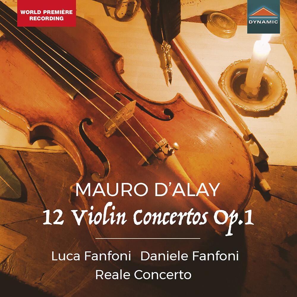 Dalay / Reale Concerto / Fanfoni - 12 Violin Concertos 1