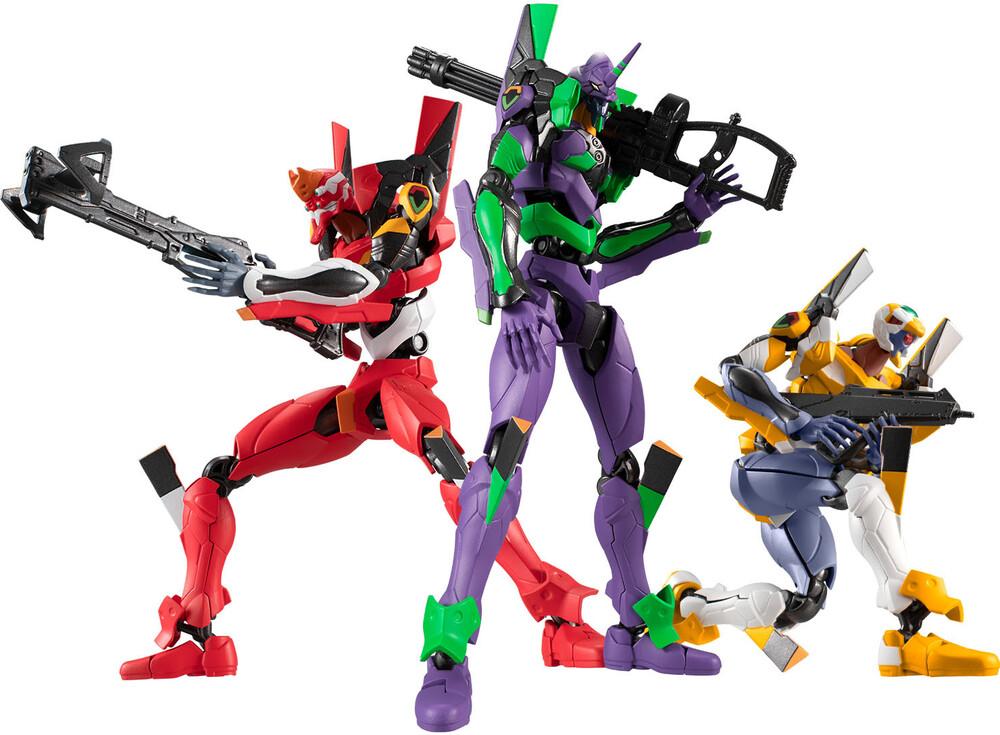 - Shokugan - Neon Genesis Evangelion - Eva Frame 01 (Box of 4), BandaiEva Frame