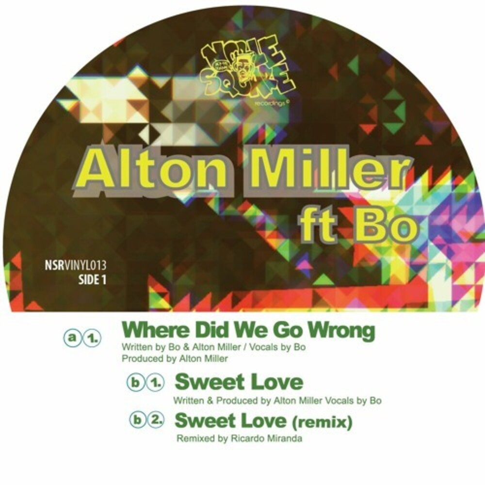 Alton Miller - Where Did We Go Wrong
