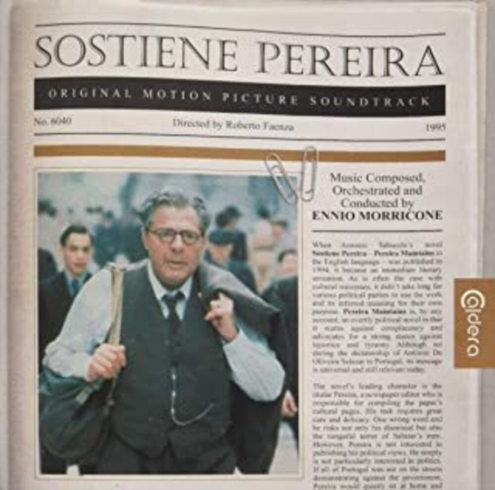 Ennio Morricone - Sostiene Pereira (According to Pereira) (Original Soundtrack)