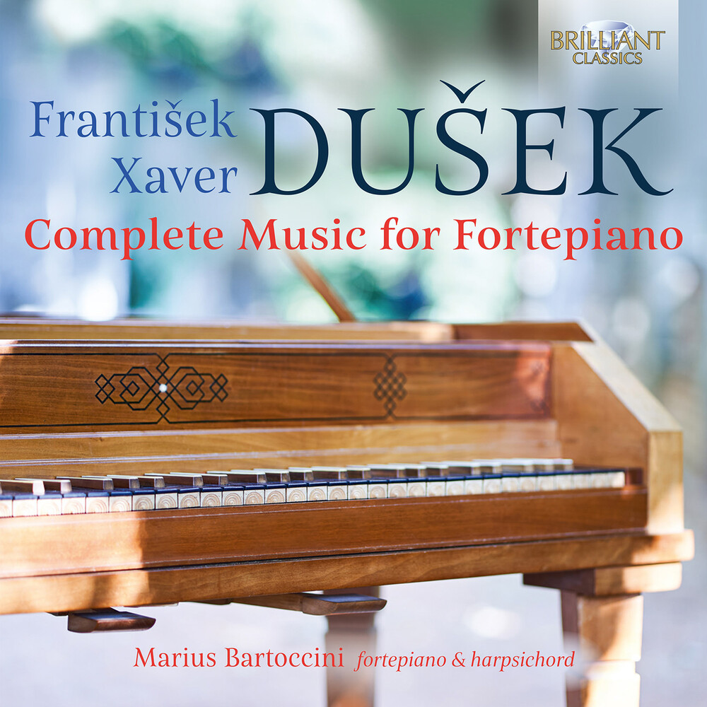 Dusek / Bartoccini - Complete Music For Fortepiano (Box)