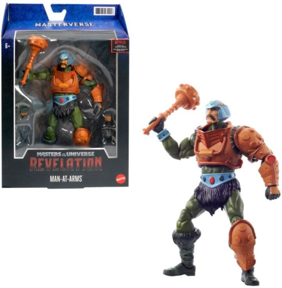 Masters Of The Universe - Motu Revelation Man At Arms Classic