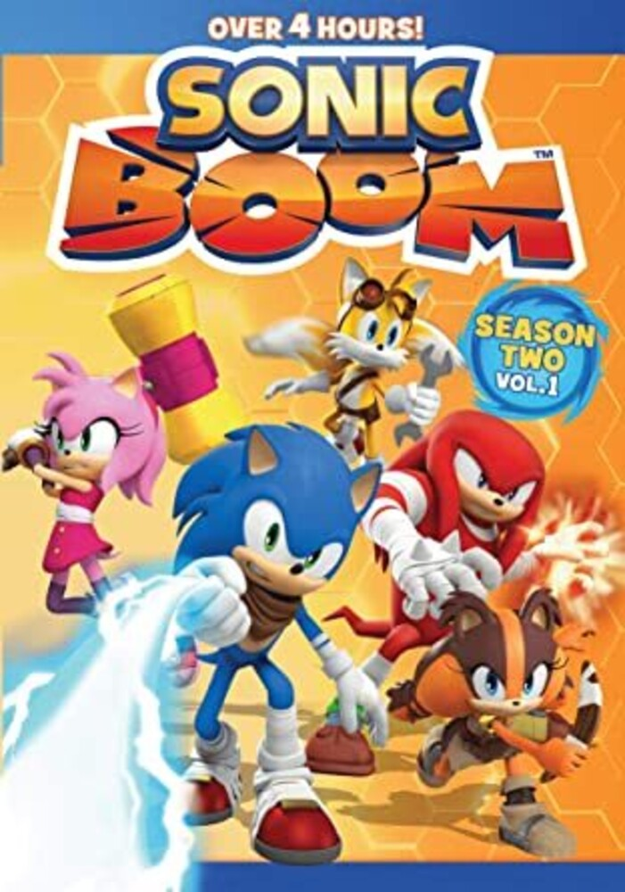 Sonic Boom: Season 2 Volume 1 DVD - Sonic Boom: Season 2 Volume 1 DVD