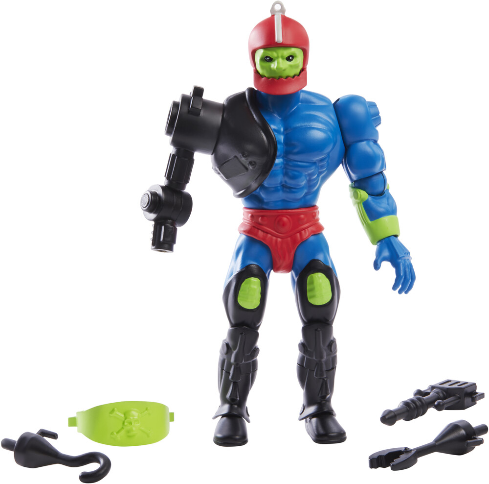 Masters Of The Universe - Mattel Collectible - Masters of the Universe Origins Trap Jaw Action Figure (He-Man, MOTU)