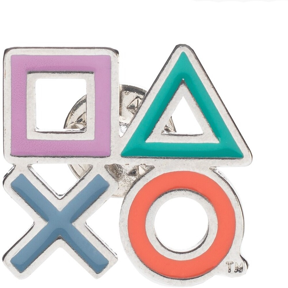 Sony Playstation Icon Lapel Pin - Sony Playstation Icon Lapel Pin