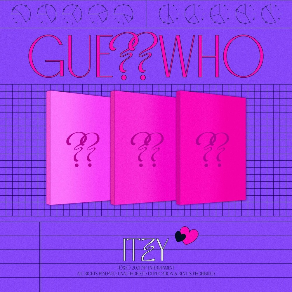 Itzy - Guess Who (Post) (Stic) (Phob)