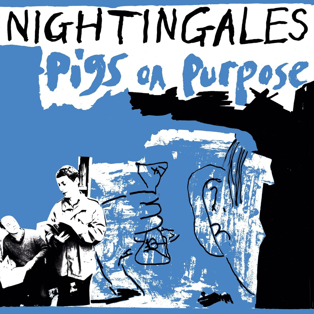 Nightingales - Pigs On Purpose (Blue) (Gate) (Uk)