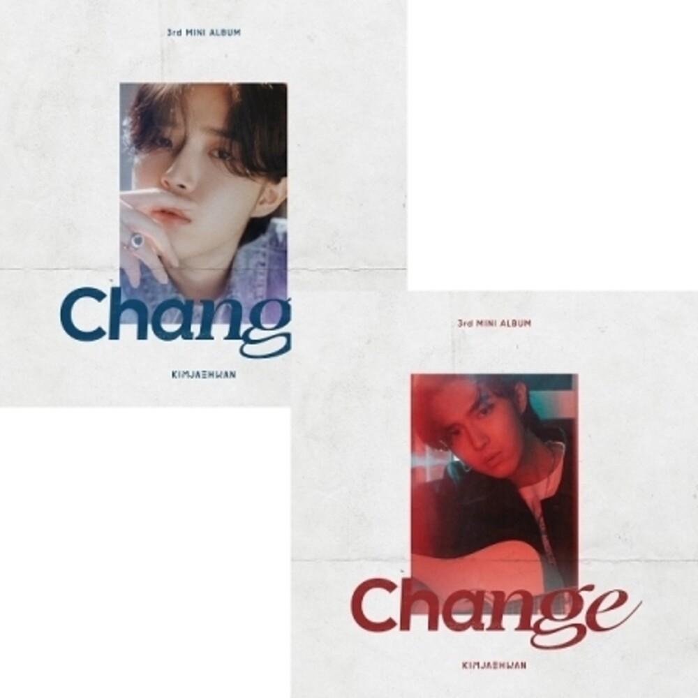 KIM JAE HWAN - Change (Random Cover) (Stic) (Pcrd) (Phob) (Phot)
