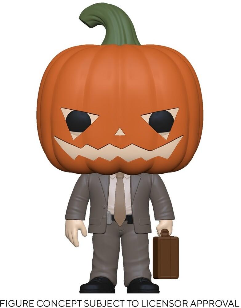 - The Office- Dwight W/Pumpkinhead (Vfig)