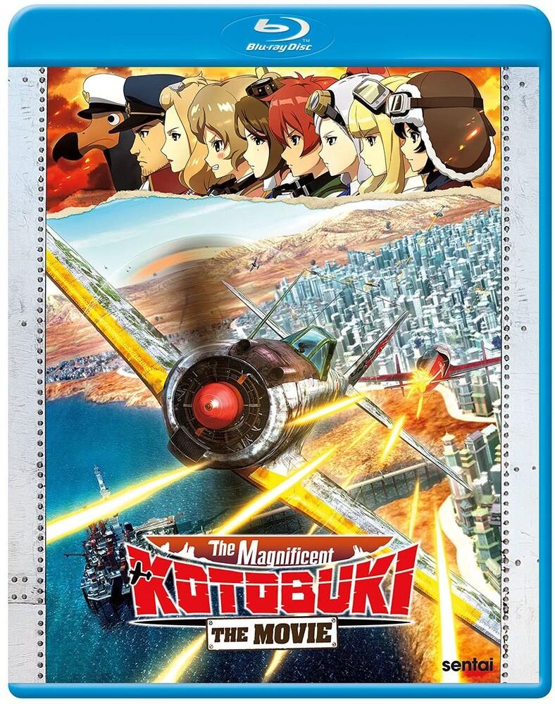 - Magnificent Kotobuki The Movie (2pc) / (Anam Sub)