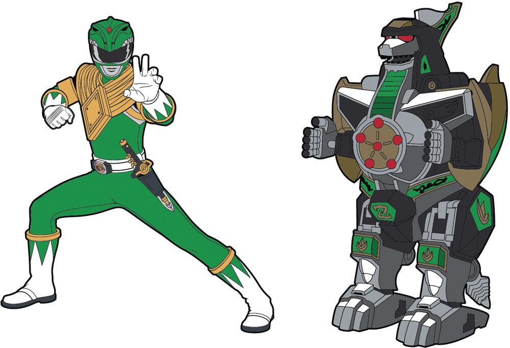- Power Rangers Green Ranger X Dragonzord Pin Set