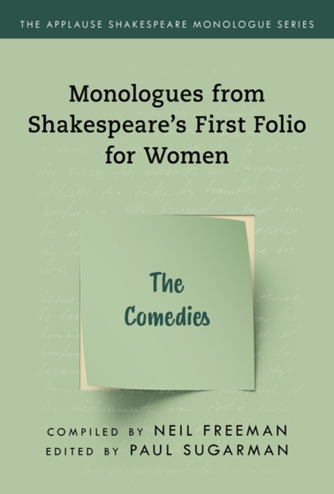 Neil Freeman - Shakespeares Monologues For Women The Comedies