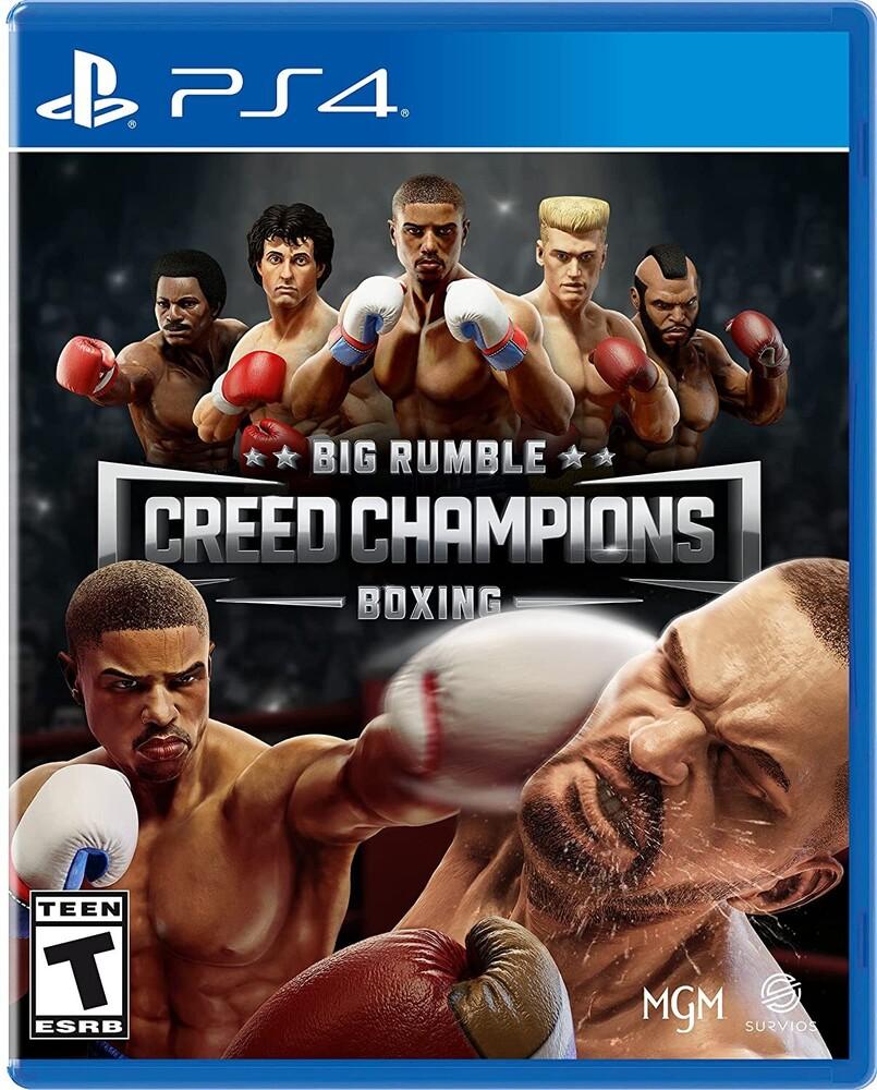 - Ps4 Big Rumble Boxing: Creed Champions