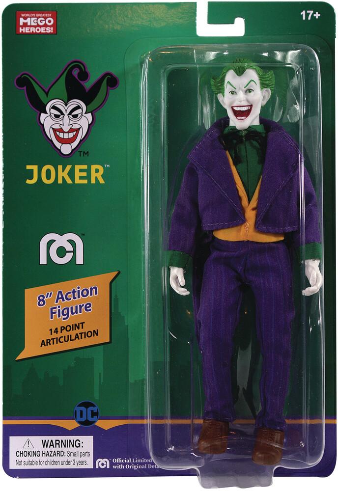 - Mego Dc Comics Joker 8in Af (Afig) (Clcb)