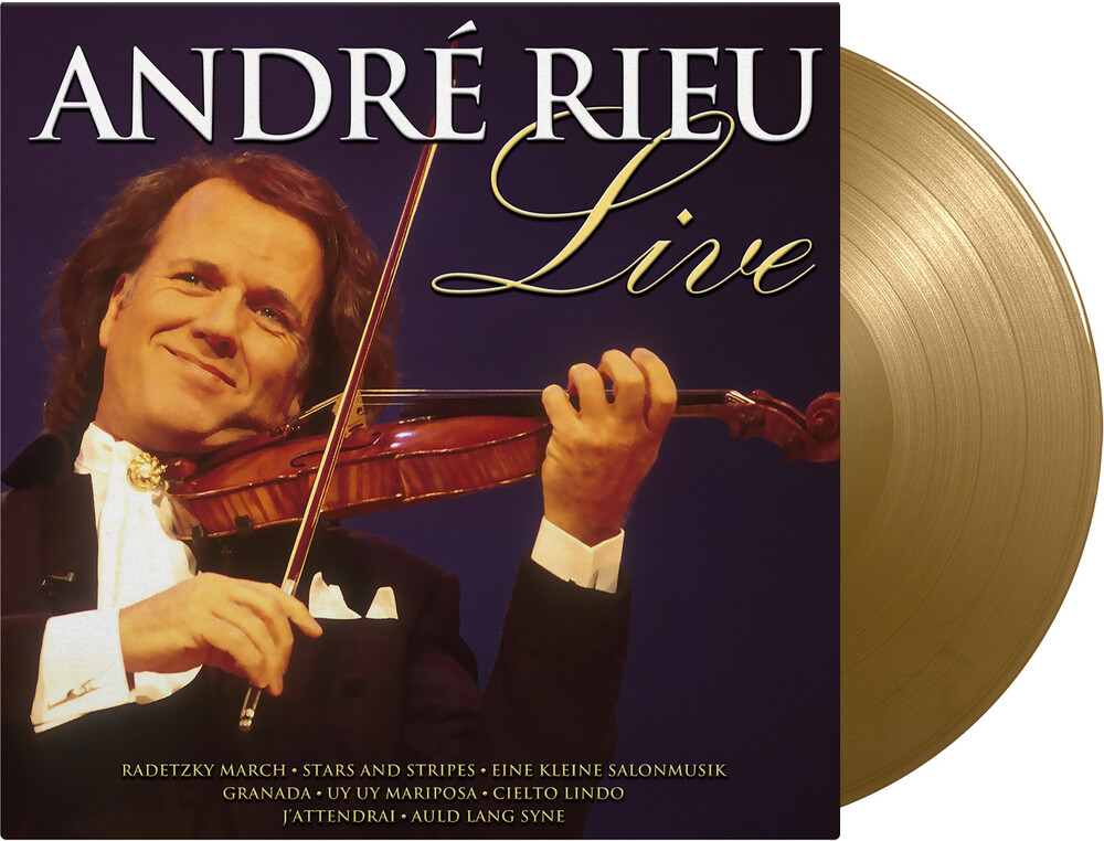Andre Rieu - Live [Colored Vinyl] (Gol) [Limited Edition] [180 Gram]