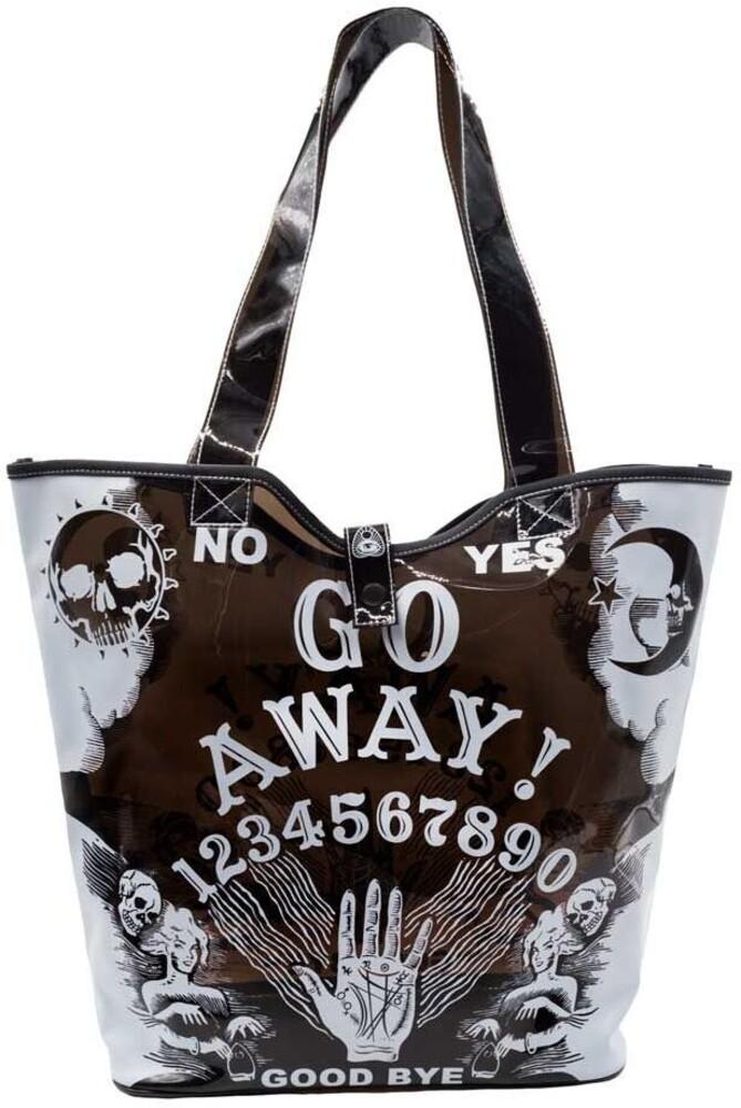 Go Away Ouija Pvc Beach Tote - Go Away Ouija Pvc Beach Tote (Tote)