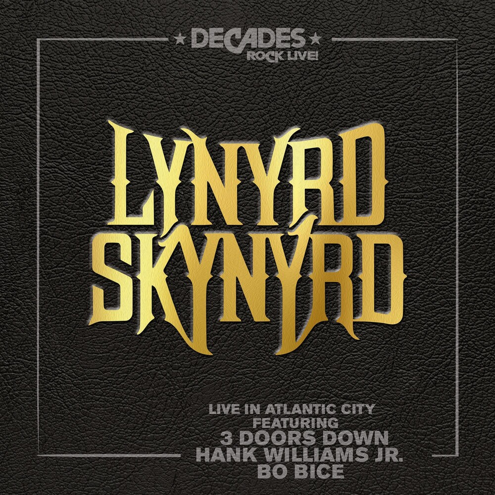 Lynyrd Skynyrd - Live In Atlantic City [LP]