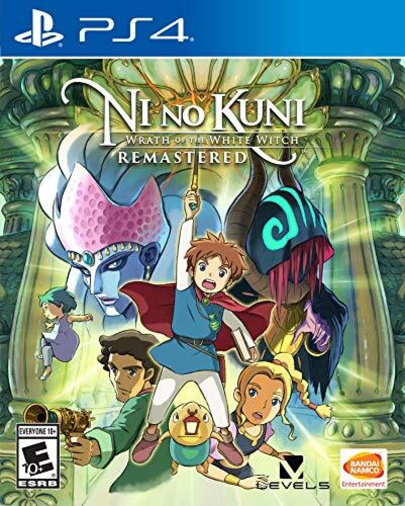 - Ni No Kuni: Wrath of the White Witch Remastered for PlayStation 4