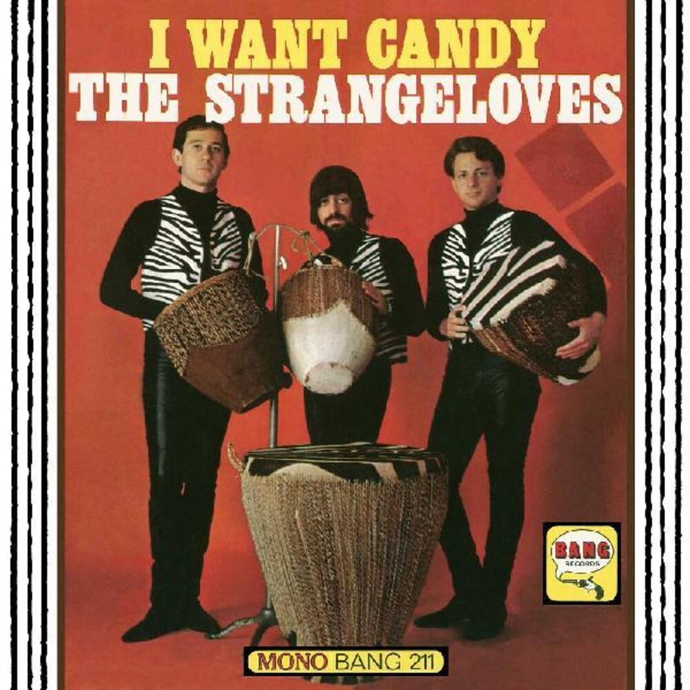 STRANGELOVES - Want Candy [Colored Vinyl] [Limited Edition] (Red)