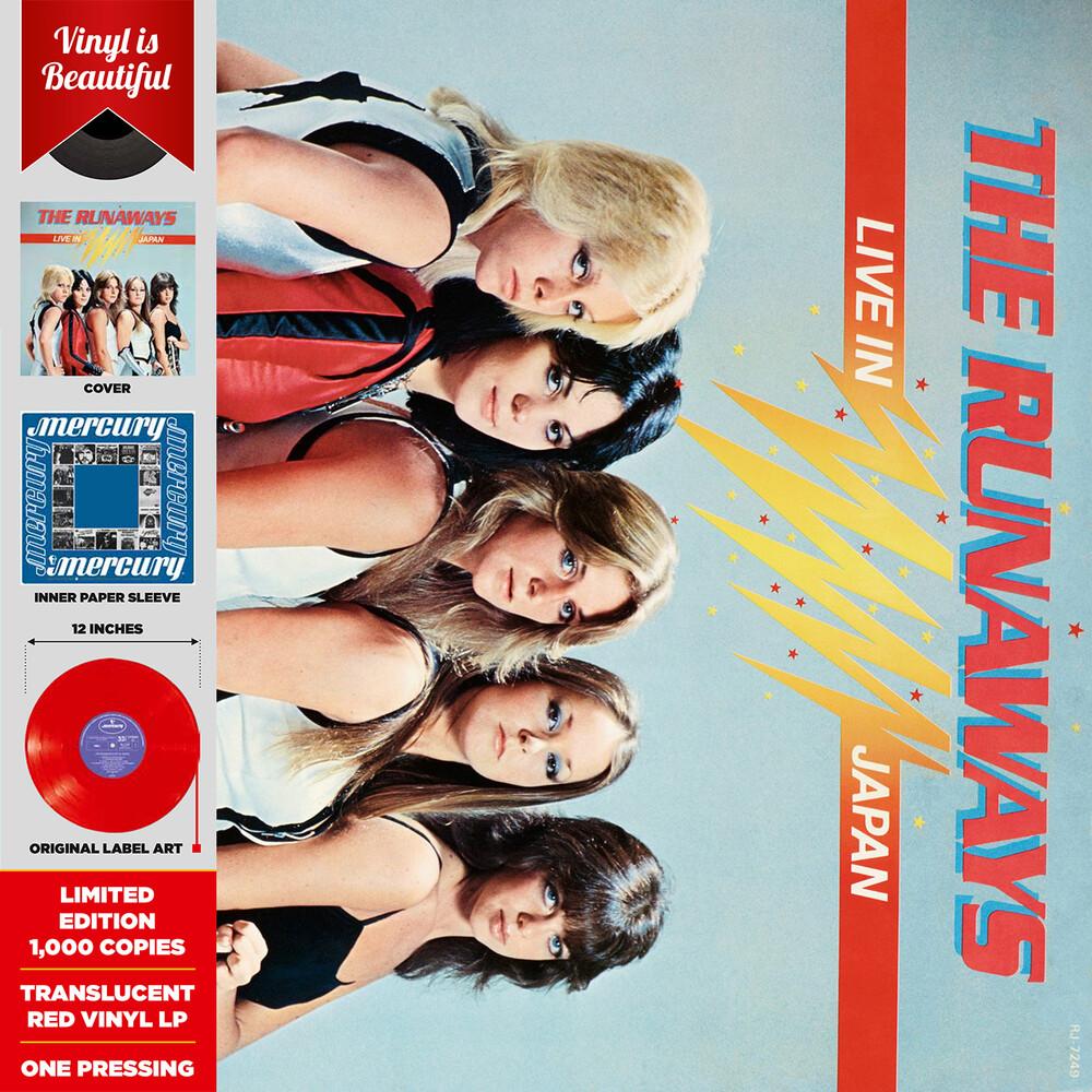 The Runaways - Live In Japan (Import Version) (Colv) (Gate) (Ltd)