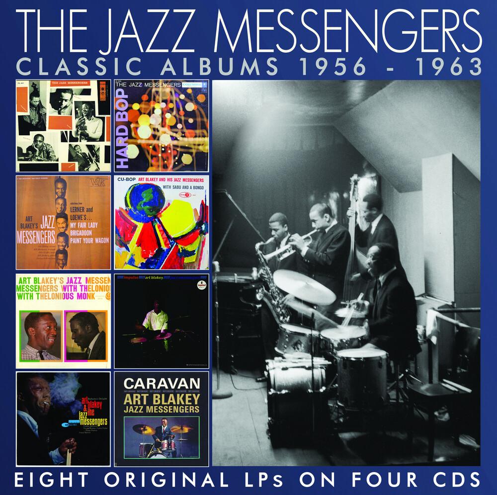 Jazz Messengers - Classic Albums 1956-1963