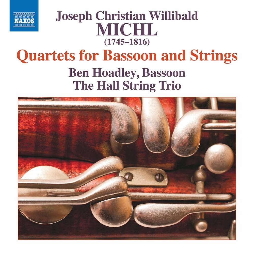 Ben Hoadley - Quartets For Bassoon & Strings