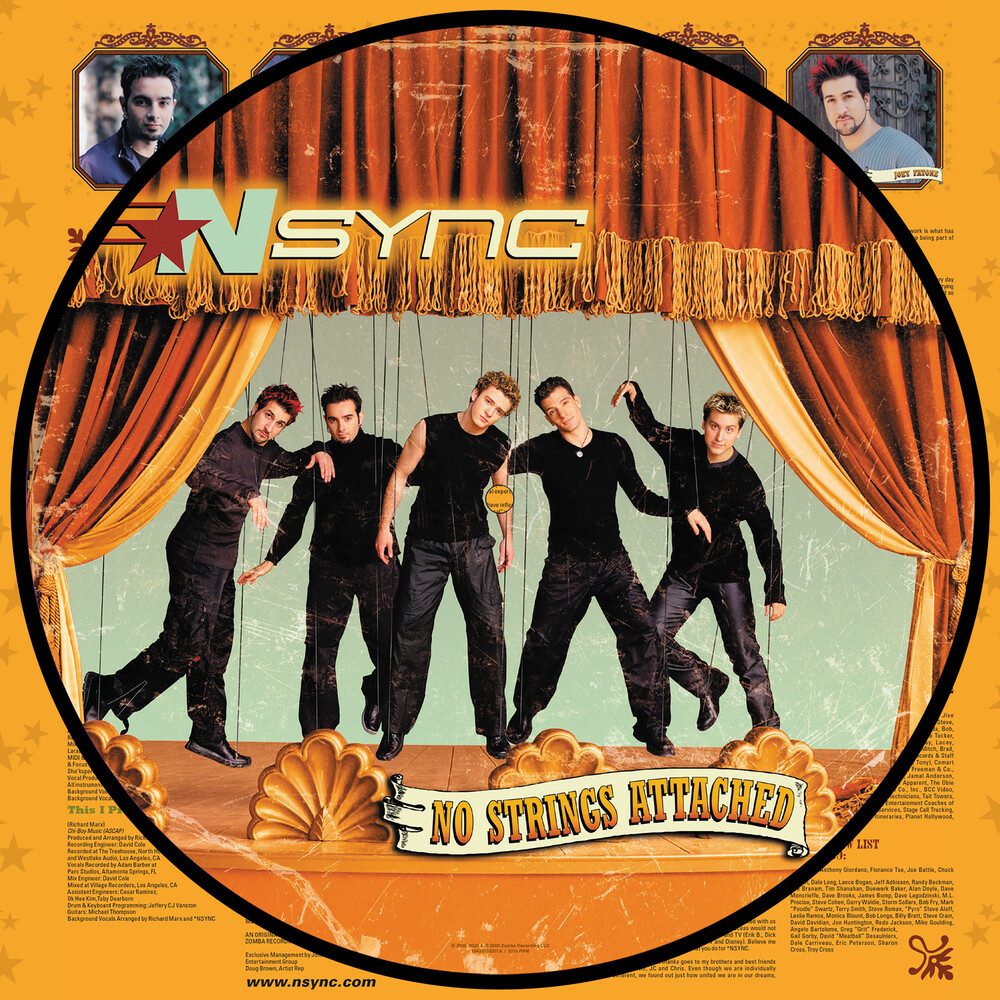 *NSYNC - No Strings Attached (20th Anniversary Edition) [Picture Disc LP]
