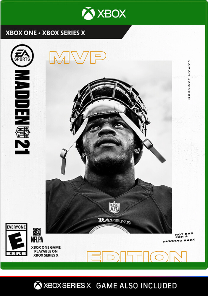 Xb1 Madden NFL 21 - Mvp Edition - Madden NFL 21 - MVP Edition for Xbox One