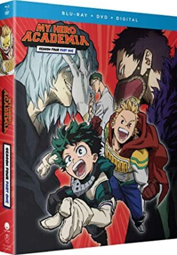 My Hero Academia: Season 4 Part 1 - My Hero Academia: Season 4 Part 1 (4pc) (W/Dvd)