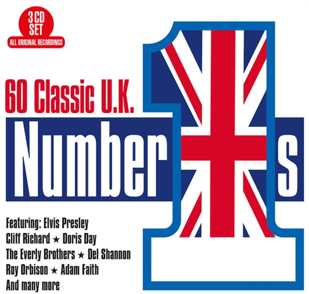 60 Classic Uk No 1s / Various - 60 Classic Uk No 1's / Various (Aus)