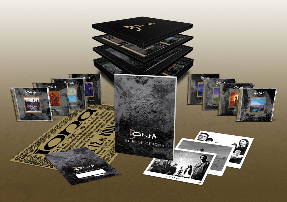 Iona - Book Of Iona (W/Book) (Box) (Uk)