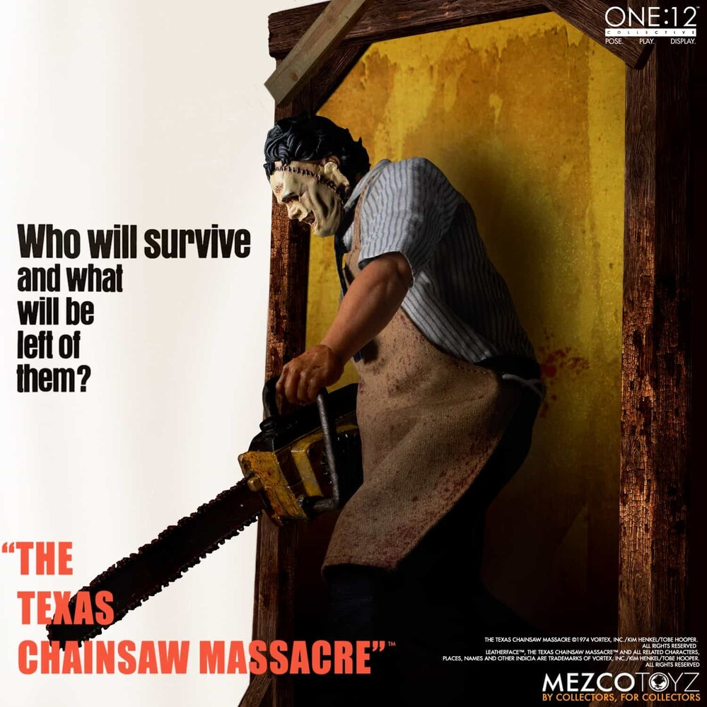 One:12 Collective TCM (1974): Leatherface - Mezco - One:12 Collective The Texas Chainsaw Massacre (1974):Leatherface - Deluxe Edition