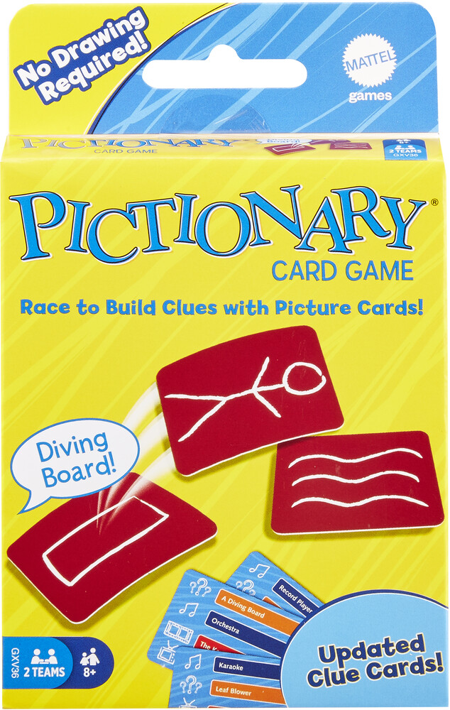 Games - Mattel Games - Pictionary Card Game