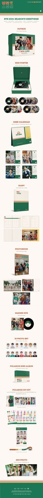 BTS - 2021 Season's Greetings (W/Dvd) (Cal) (Post)