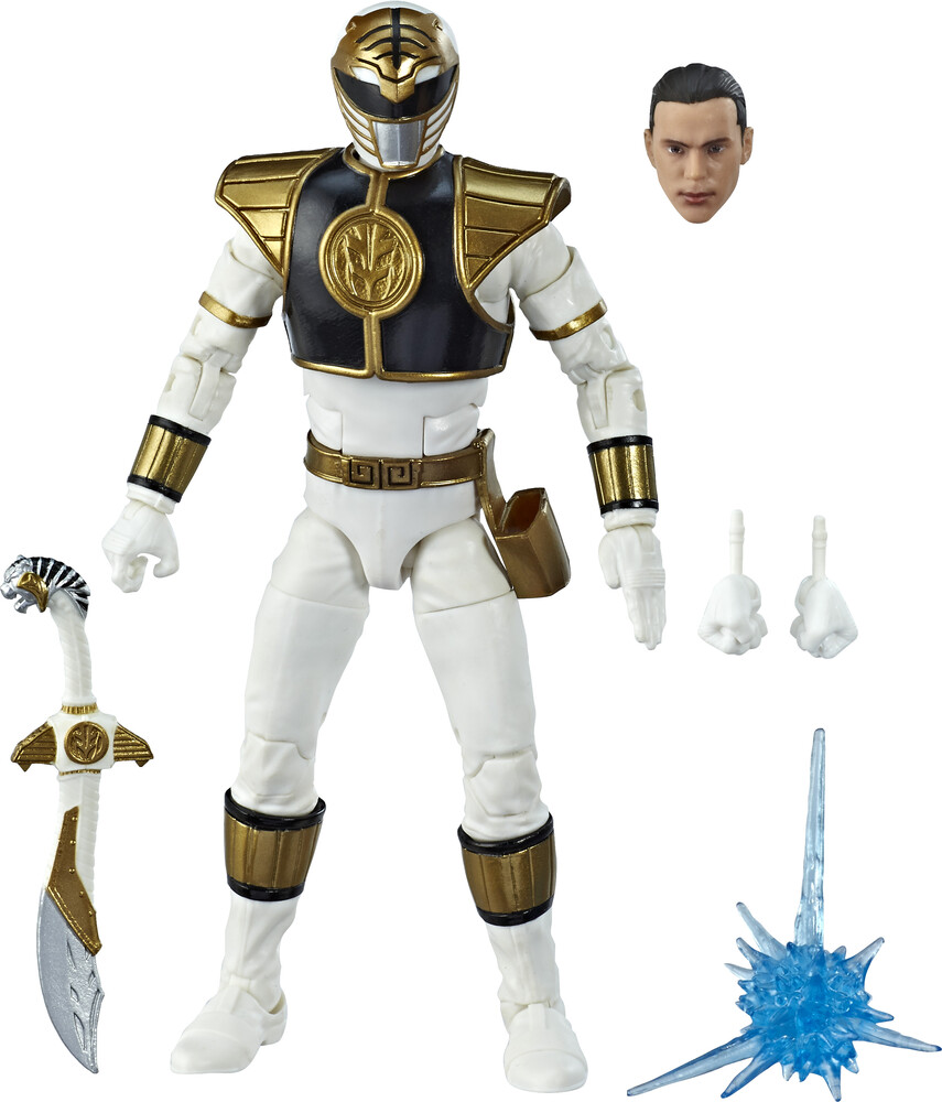 Prg Lc 6in Mmpr White Ranger Figure - Hasbro Collectibles - Power Rangers Lightning Collection White Ranger