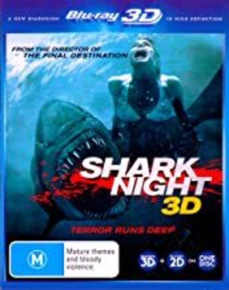 Shark Night 3D - Shark Night 3d / (Aus)